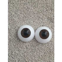 Angelesque Eyes - Warm brown (18mm)