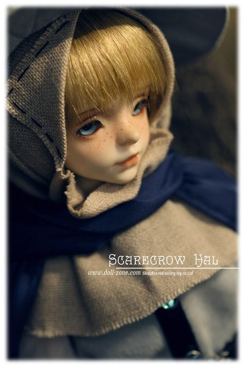 DollZone MSD Scarecrow Hal