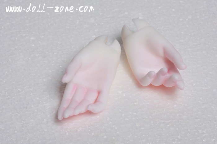 DollZone parts 58cm Girl Hands HG58-01
