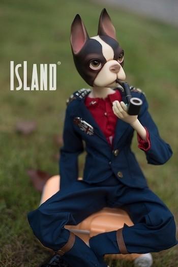Uncle Dog, 47cm Island Doll (Lucky Fairy) Boy