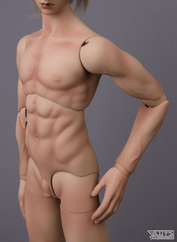 LUTS Model Delf - BOY Body New Type1 Muscle