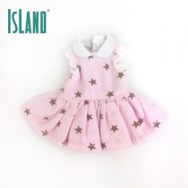 BRU pink star dress