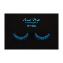 Soul Doll Lashes - Sky blue