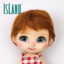 Island Bru, short carrot wig