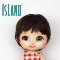Island Bru, short dark brown
