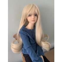 Angelesque long blond wave wig 9-10 inch