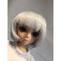 Angel silver wig 02