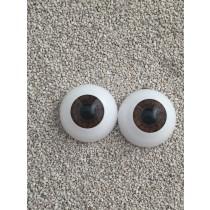 Angelesque Eyes - Warm brown (18mm)