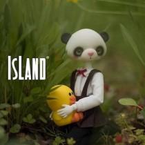 Girl Panda, 27cm Island Doll (Lucky Fairy) Girl