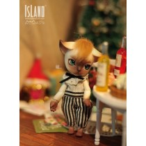 Luo Luo, 10.5cm Island Doll (Forest Island) Pet Doll.