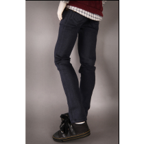 MDF SPAN COLOR COTTON PANTS(Navy)