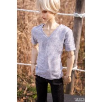 SSDF V-neck T-shirt (Gray)