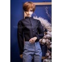 SSDF China Collar Shirt (Black)