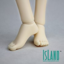 Female High-heeled feet 1/3 ( a pair of )